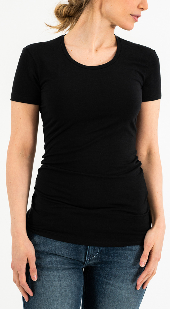 Rokker Performance Motors Damen T-Shirt, schwarz, Größe S, schwarz, Größe S
