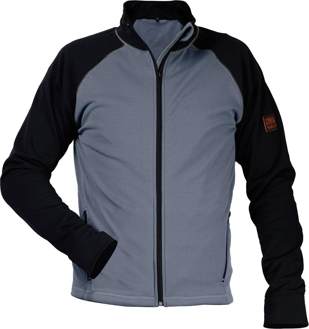 Rokker Soft Shell Jacke, schwarz-grau, Größe 3XL, schwarz-grau, Größe 3XL