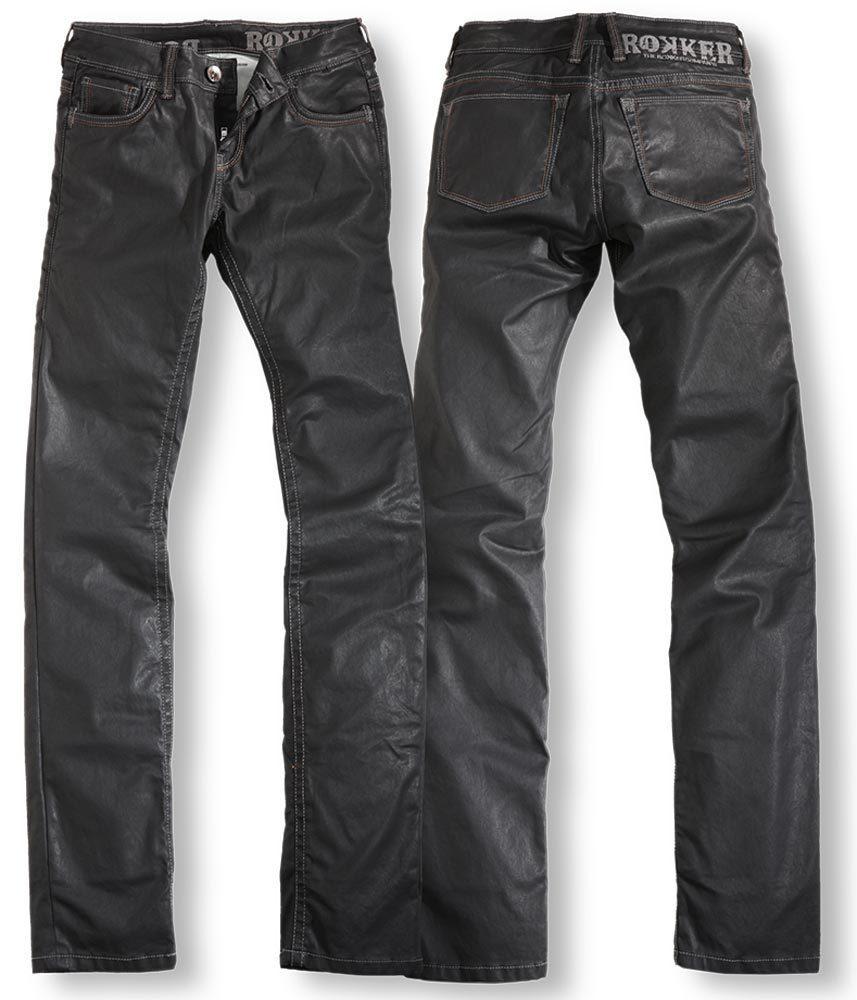 Rokker The Black Diva Jeans - Damen, schwarz, Größe 26, schwarz, Größe 26