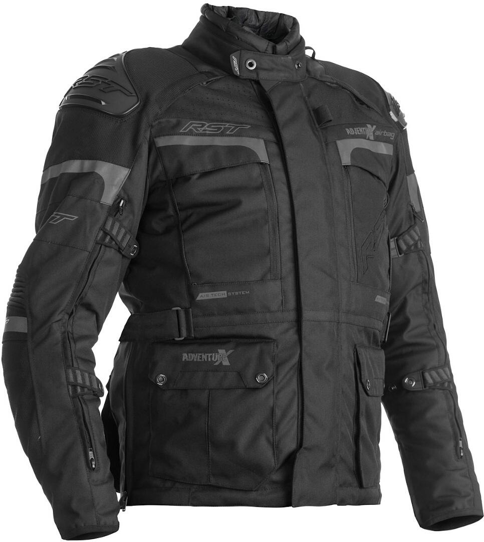 RST Adventure-X Airbag Motorrad Textiljacke, schwarz, Größe 60, schwarz, Größe 60