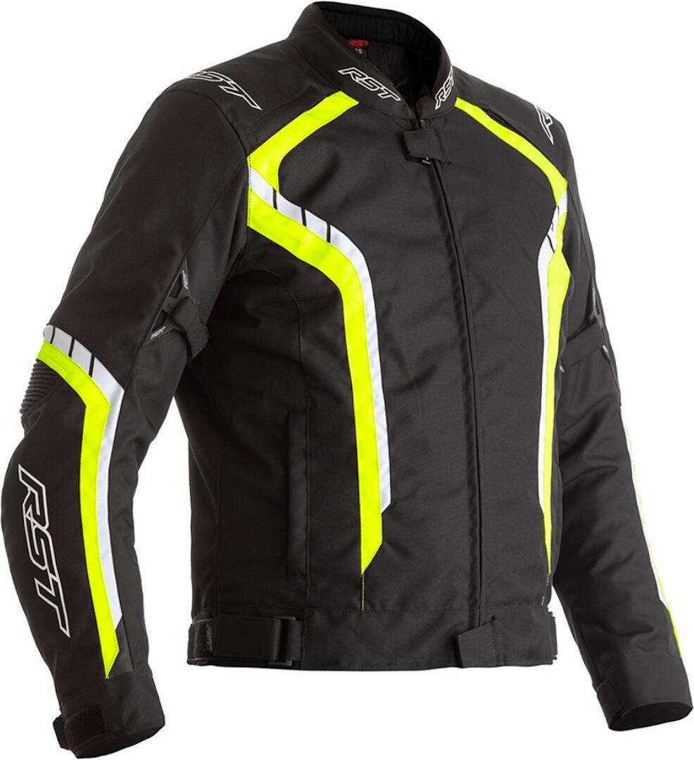 RST Axis Motorrad Textiljacke, schwarz-gelb, Größe 54, schwarz-gelb, Größe 54
