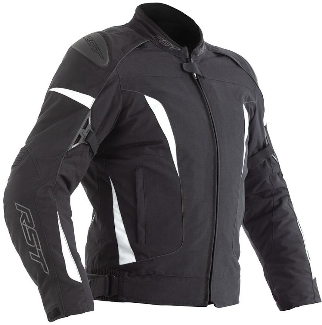 RST GT Damen Motorradjacke, schwarz-weiss, Größe 36, schwarz-weiss, Größe 36