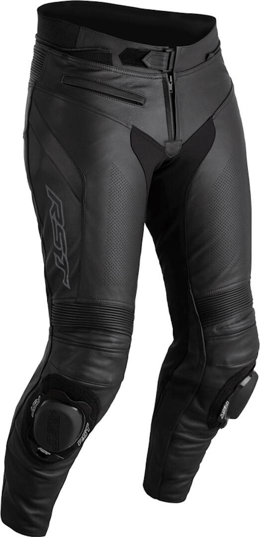 RST Sabre Motorrad Lederhose, schwarz, Größe 40, schwarz, Größe 40