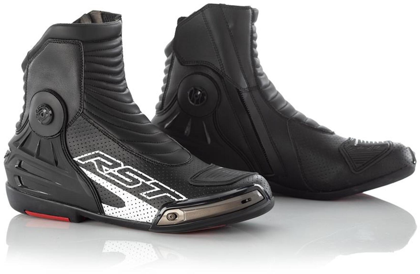 RST Tractech Evo III Motorradschuhe, schwarz, Größe 48, schwarz, Größe 48