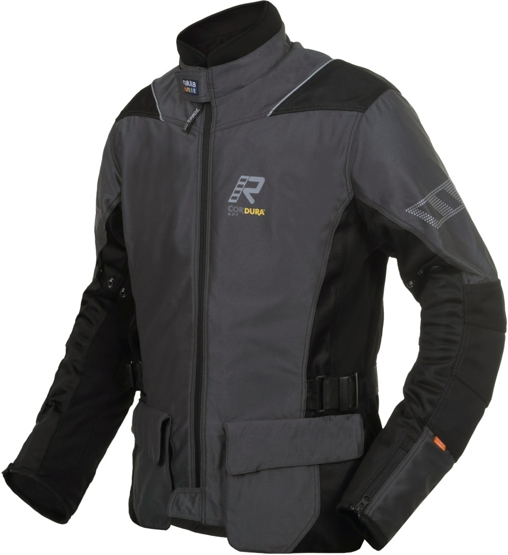Rukka AirventuR Motorrad Textiljacke, grau, Größe 48, grau, Größe 48
