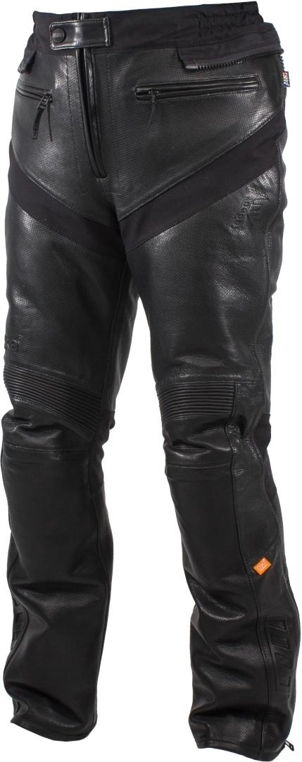 Rukka Aramos Motorrad Lederhose, schwarz, Größe 50, schwarz, Größe 50