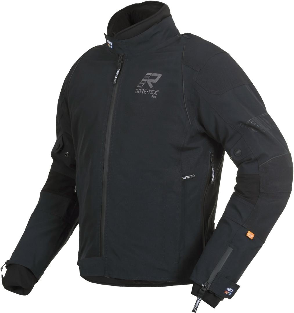Rukka Armarone Gore-Tex Motorrad Textiljacke, schwarz-grau, Größe 54, schwarz-grau, Größe 54
