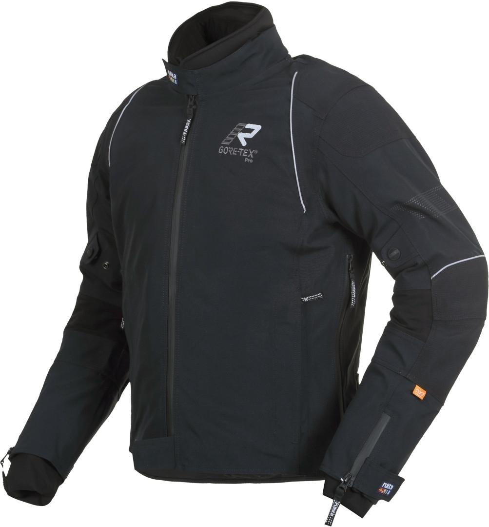 Rukka Armarone Gore-Tex Motorrad Textiljacke, schwarz-weiss, Größe 56, schwarz-weiss, Größe 56