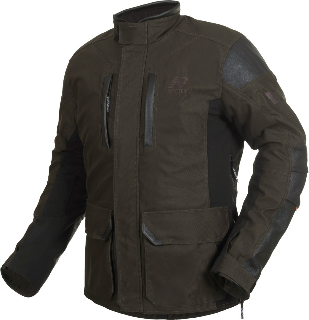Rukka Melfort Gore-Tex Motorrad Textiljacke, braun, Größe 52, braun, Größe 52