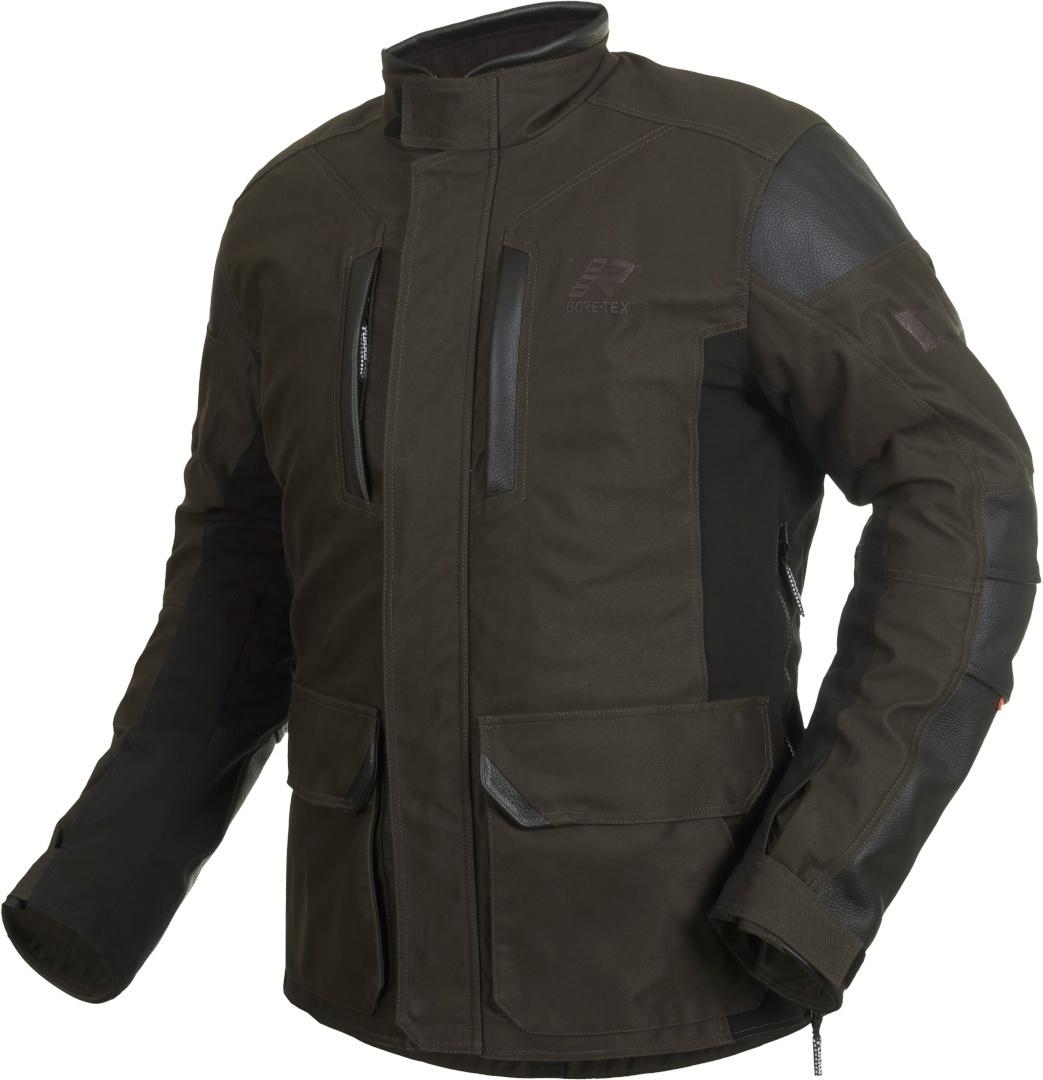 Rukka Melfort Gore-Tex Motorrad Textiljacke, braun, Größe 56, braun, Größe 56