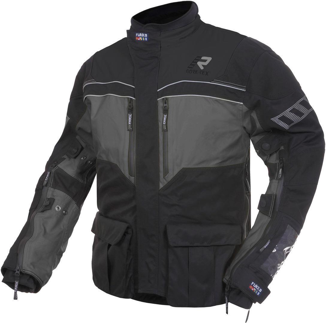 Rukka R.O.R. Jacke, schwarz-grau, Größe 58, schwarz-grau, Größe 58
