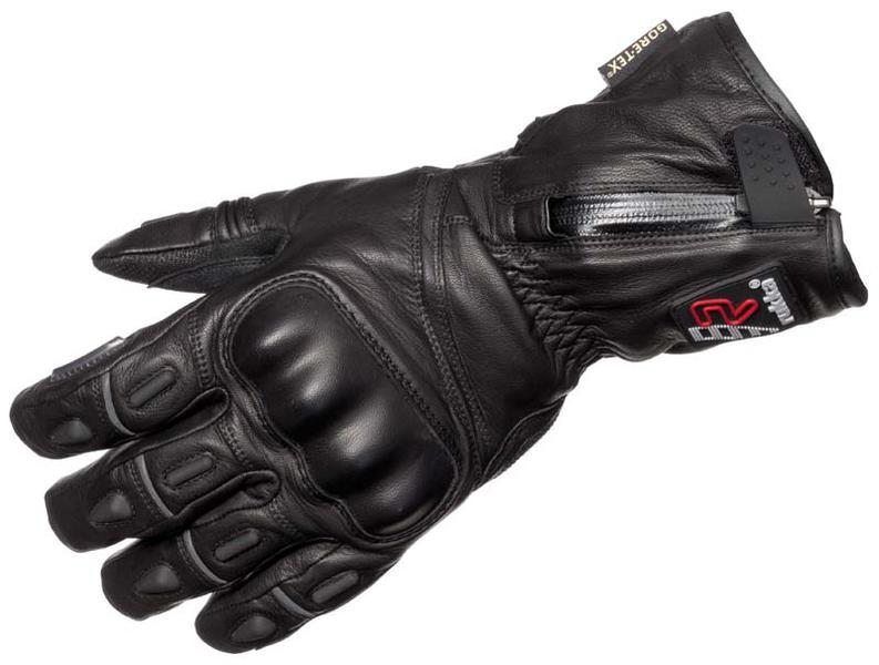 Rukka R-Star Gore-Tex Motorradhandschuhe, schwarz, Größe 5XL, schwarz, Größe 5XL