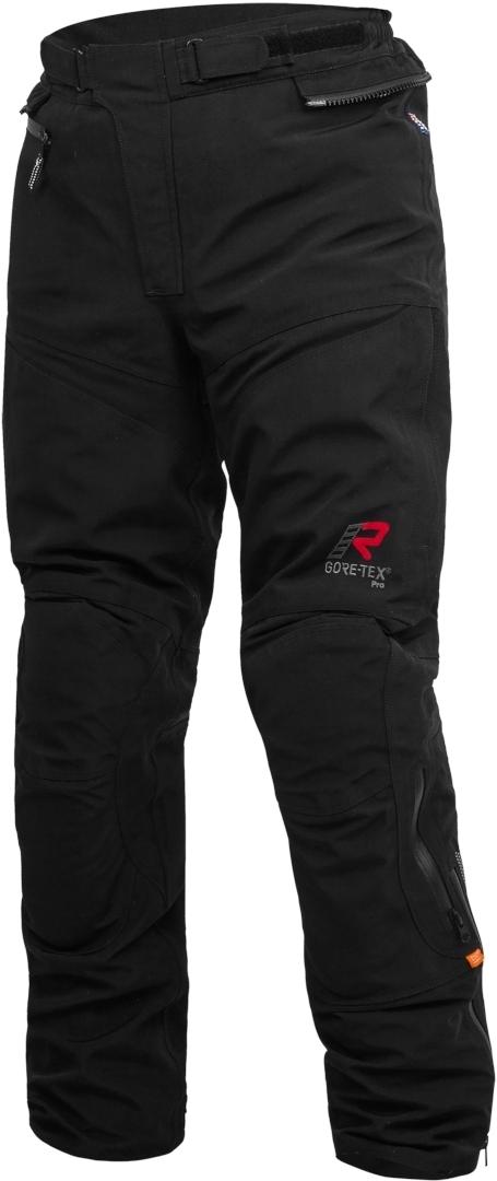 Rukka RFC Armocy Gore-Tex Motorrad Textilhose, schwarz, Größe 62, schwarz, Größe 62
