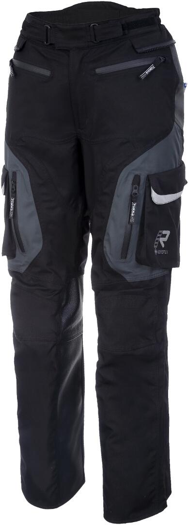 Rukka Rimorina Damen Motorrad Textilhose, schwarz-grau, Größe 40, schwarz-grau, Größe 40
