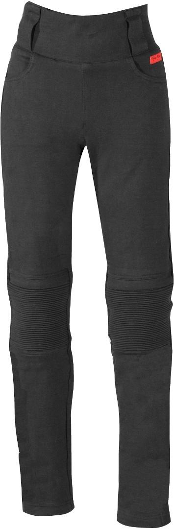 Rusty Stitches Claudia Damen Motorradhose, schwarz, Größe 38, schwarz, Größe 38