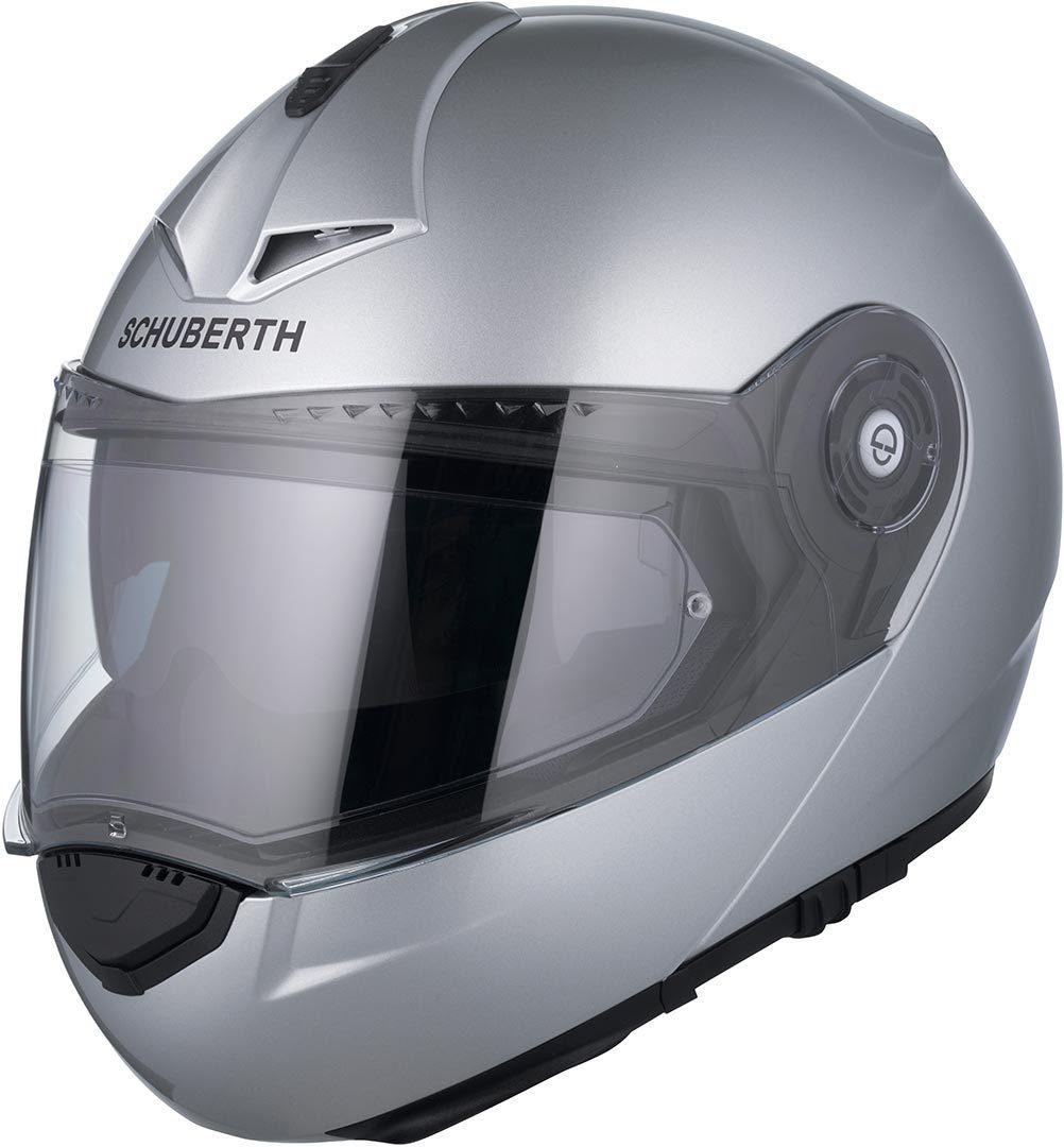 Schuberth C3 Pro Klapphelm Silber, Größe S, silber, Größe S