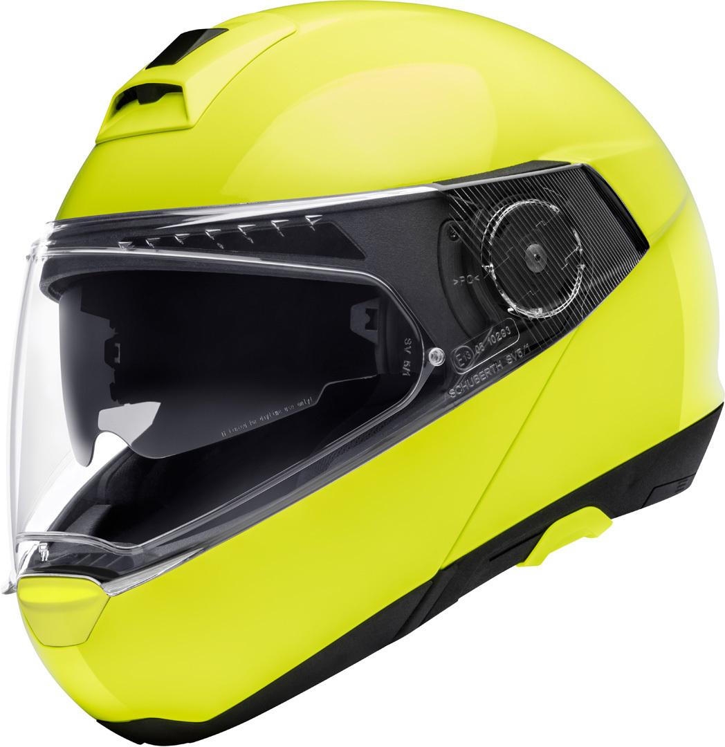 Schuberth C4 Pro Klapphelm, gelb, Größe XL, gelb, Größe XL
