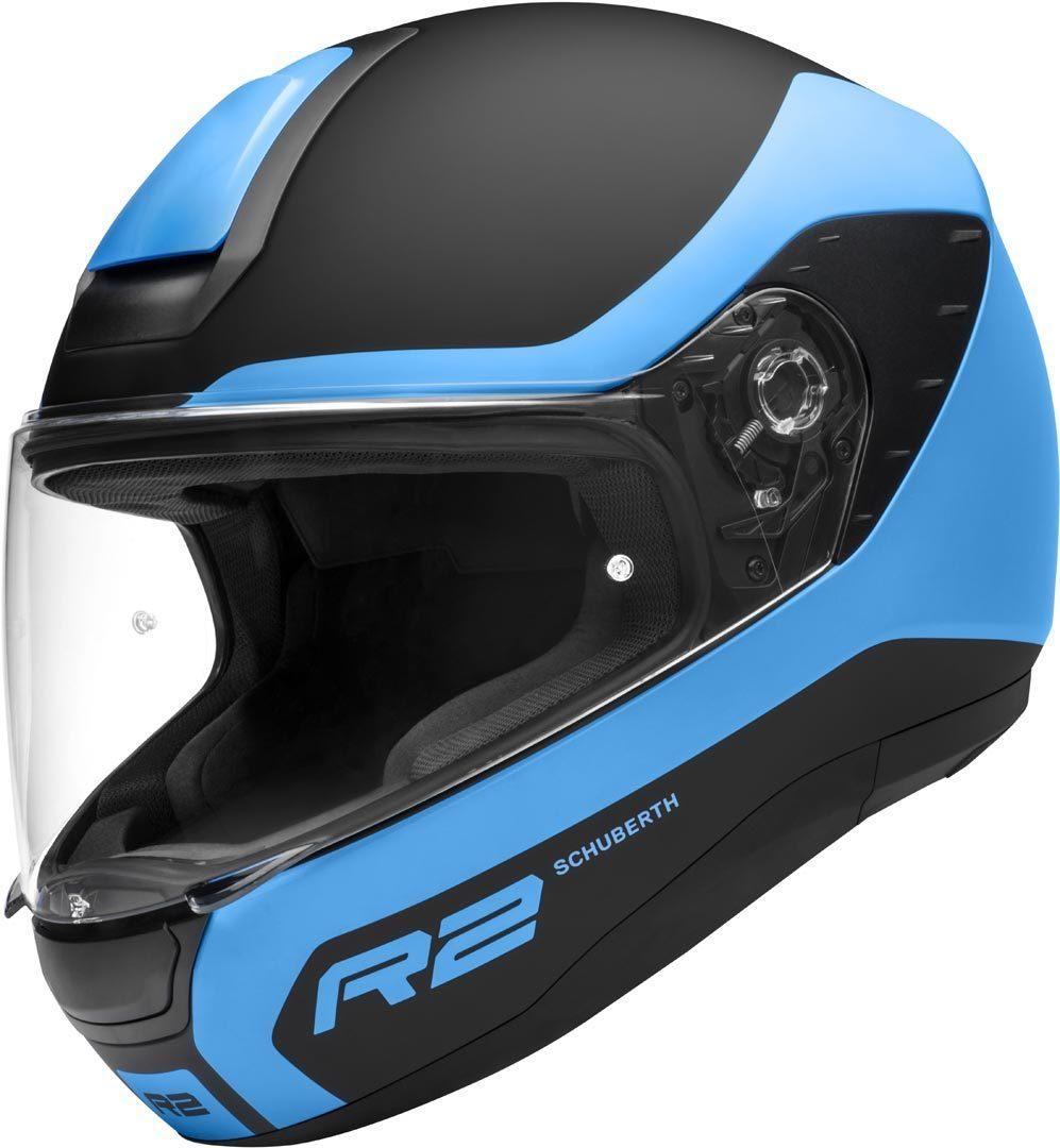 Schuberth R2 Nemesis Helm, schwarz-blau, Größe XS, schwarz-blau, Größe XS