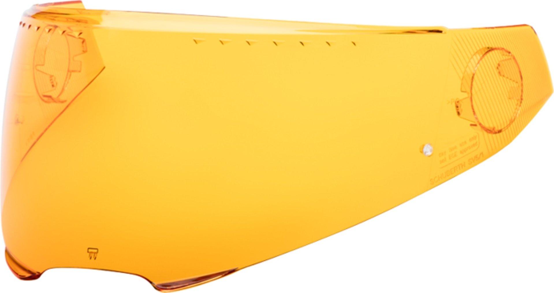 Schuberth SV5 C4 Pro Carbon / C4 Pro / C4 Pro Women / C4 Basic / C4 Visier, orange, Größe 2XS XS S M L, orange, Größe 2XS XS S M L