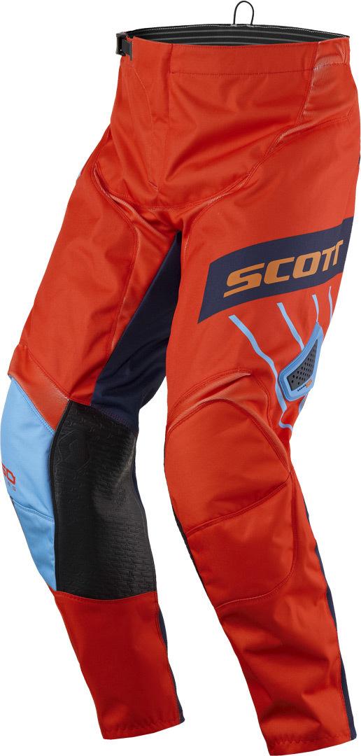 Scott 350 Dirt Motocross Hose 2017, blau-orange, Größe 36, blau-orange, Größe 36