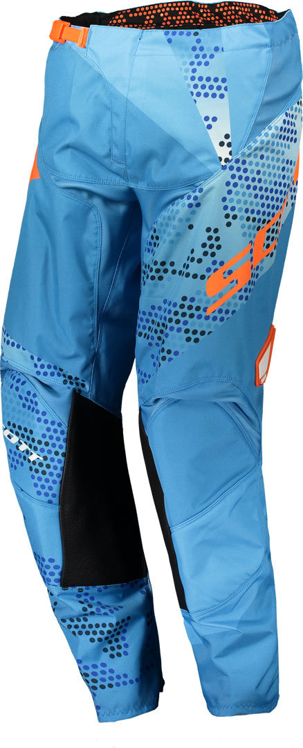 Scott 350 Race Kinder Motocross Hose 2018, blau-orange, Größe 28, blau-orange, Größe 28