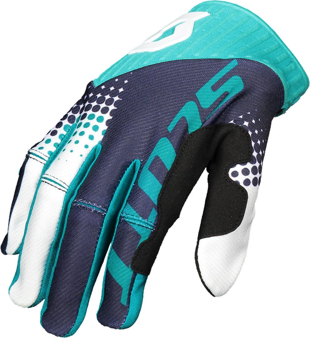 Scott 450 Angled Handschuhe, blau, Größe S, blau, Größe S
