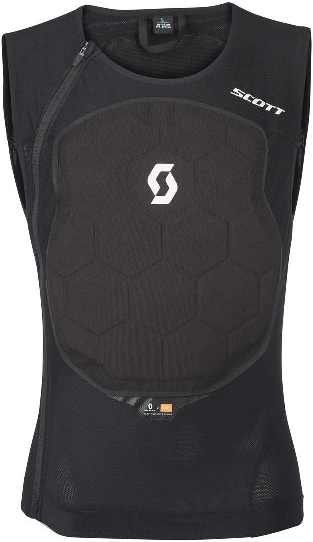 Scott Airflex Pro Protektorenweste, schwarz, Größe L, schwarz, Größe L