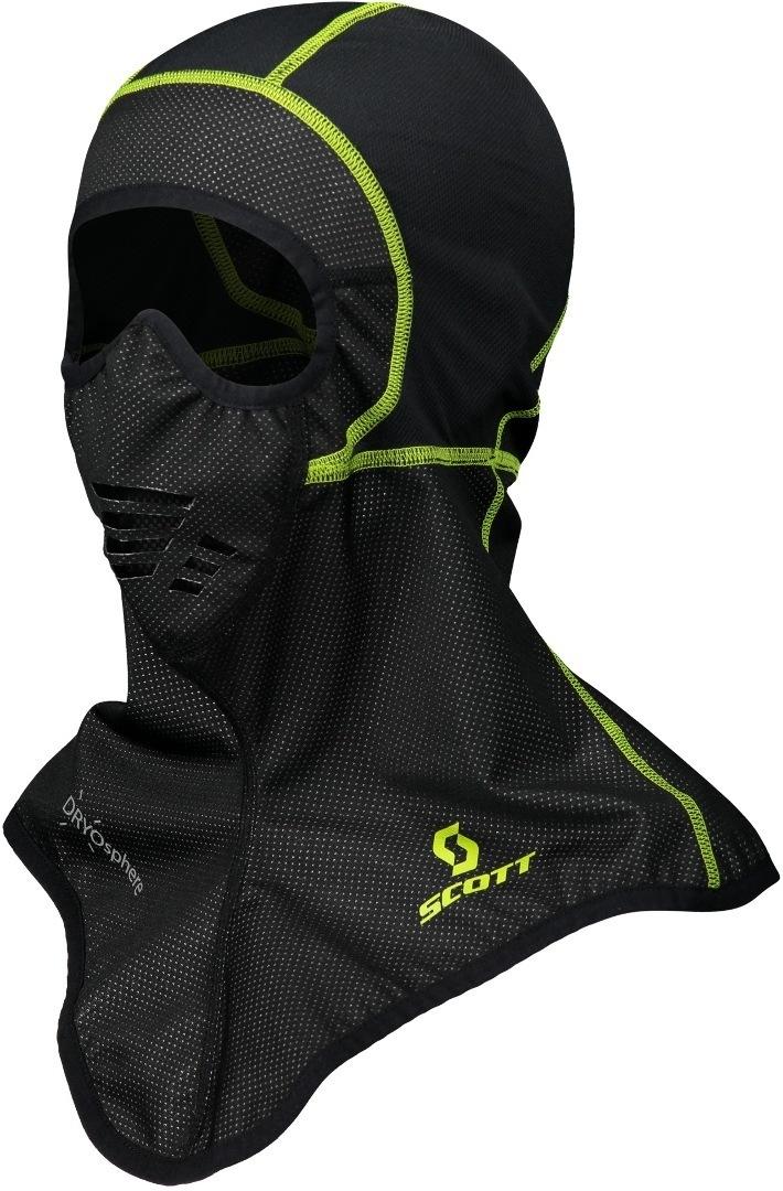 Scott Wind DP Sturmhaube, schwarz-gelb, Größe L XL, schwarz-gelb, Größe L XL