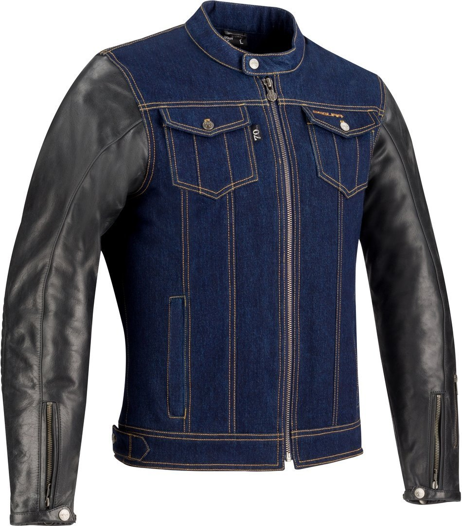 Segura Gordon Motorrad Textiljacke, schwarz-blau, Größe XL, schwarz-blau, Größe XL