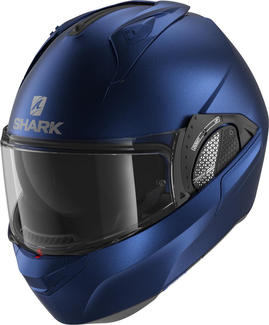Shark Evo-GT Blank Klapphelm, blau, Größe XS, blau, Größe XS