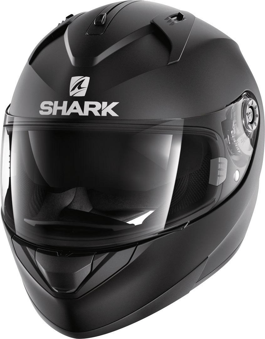 Shark Ridill Blank Mat Helm, schwarz, Größe S, schwarz, Größe S