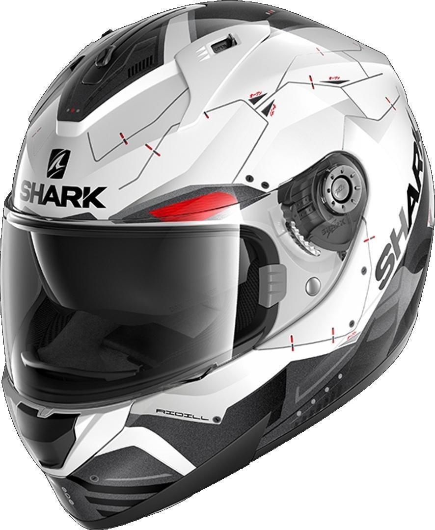 Shark Ridill Mecca Helm, schwarz-weiss, Größe XS, schwarz-weiss, Größe XS