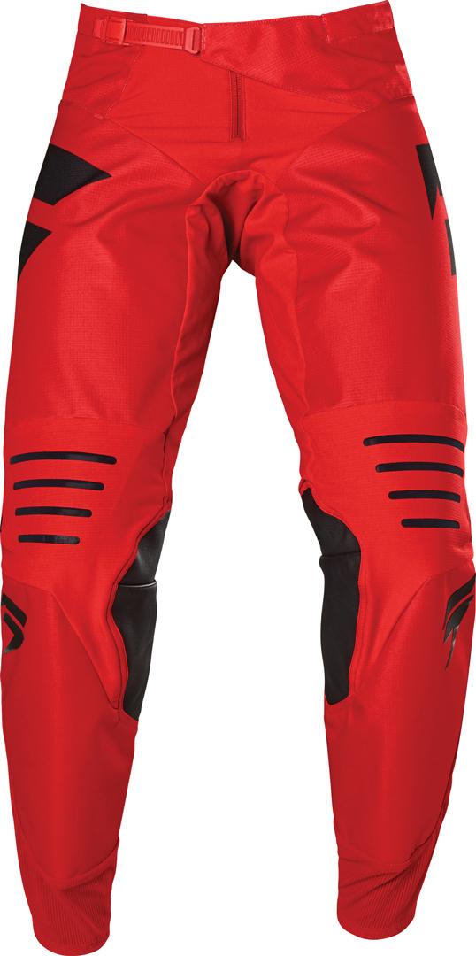 Shift 3Lack Label Race 1 Motocross Hose, schwarz-rot, Größe 32, schwarz-rot, Größe 32
