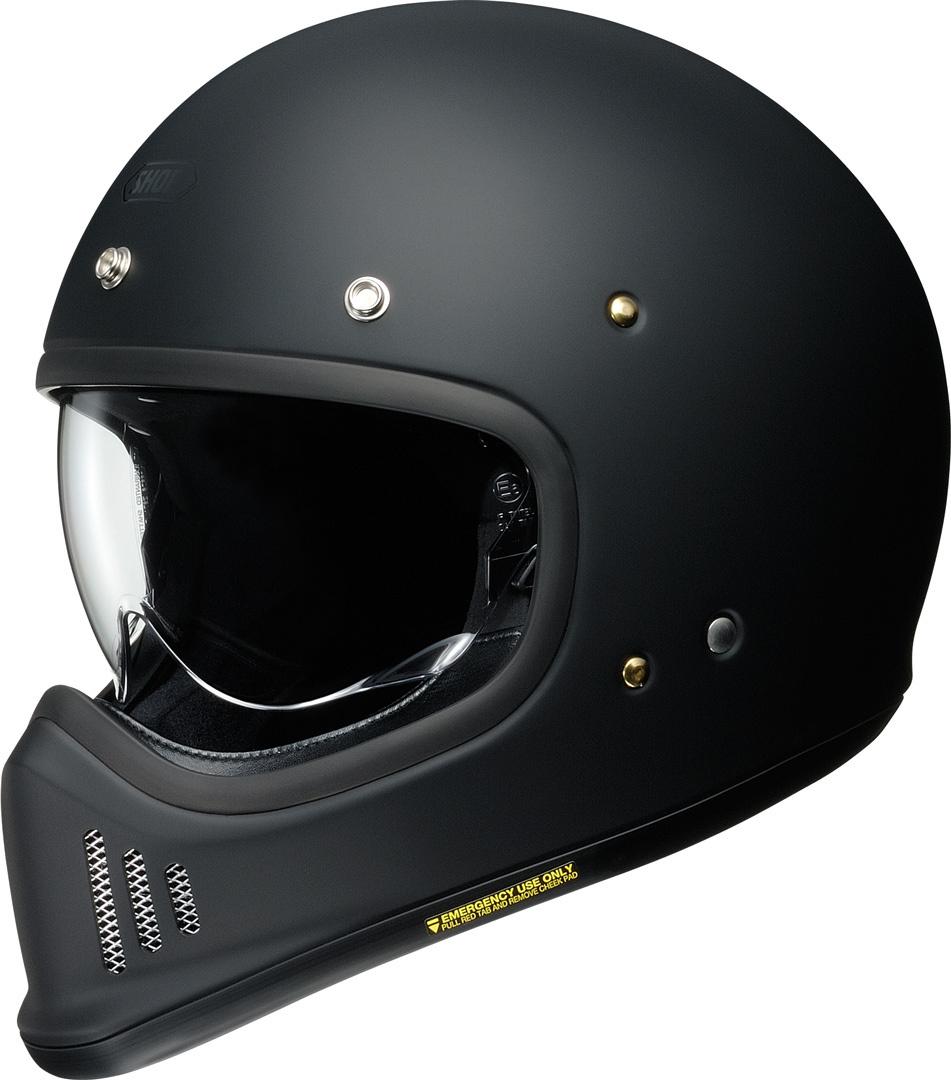 Shoei EX-Zero Helm, schwarz, Größe XS, schwarz, Größe XS