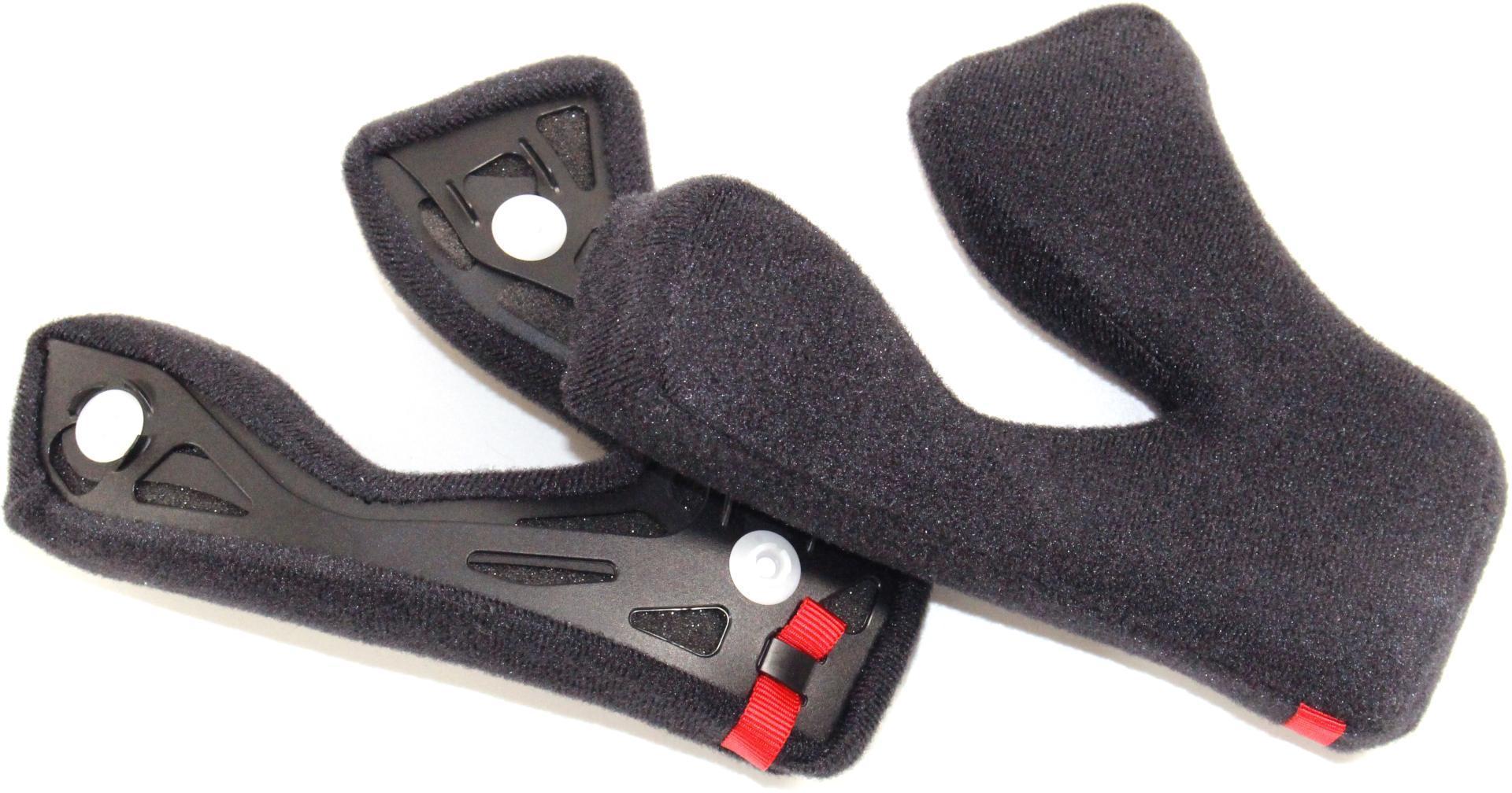Shoei EX-Zero Wangenpolster, schwarz, Größe 39 39 mm, schwarz, Größe 39 39 mm