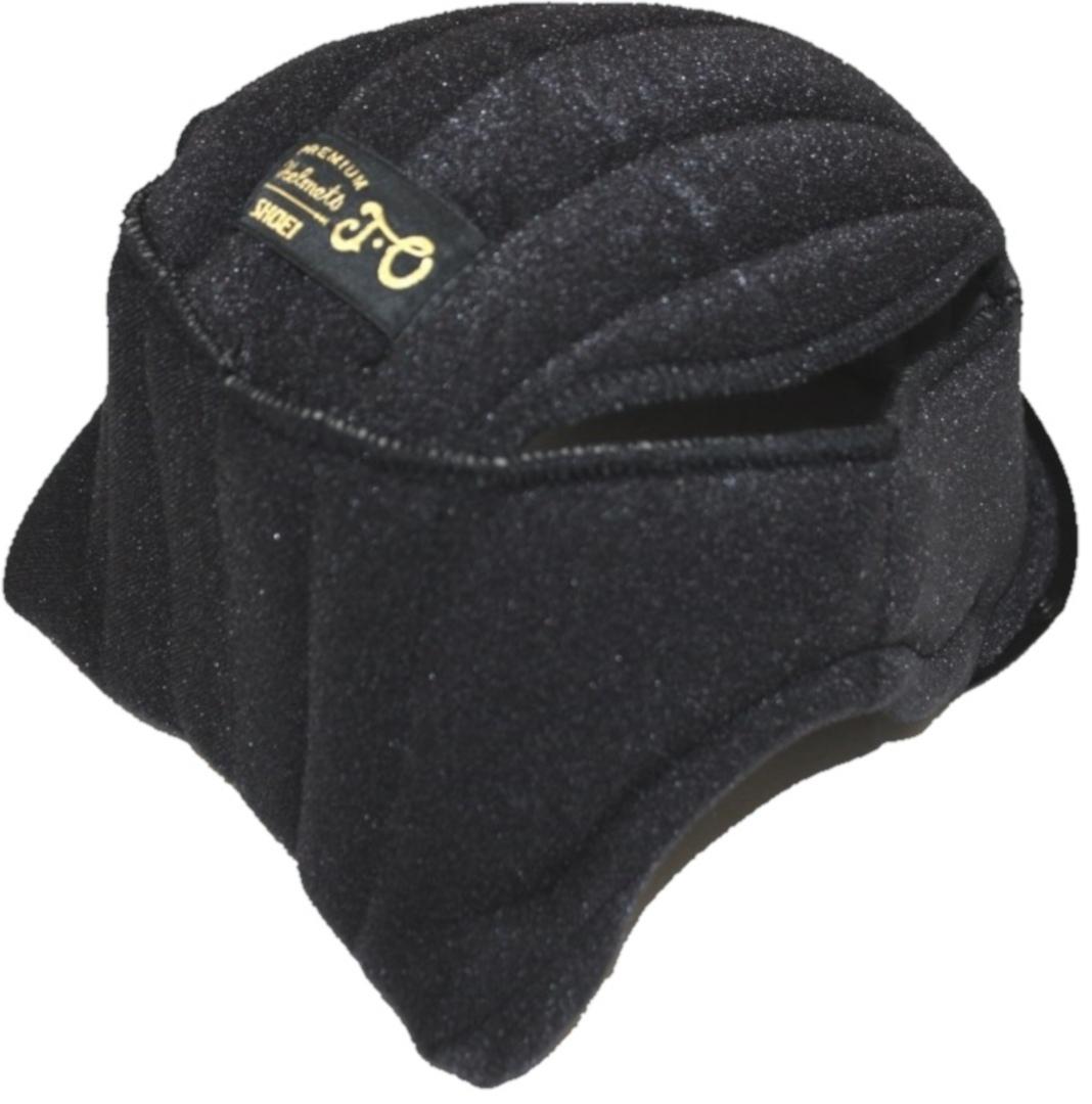 Shoei J.O Kopfpolster, schwarz, Größe L, schwarz, Größe L