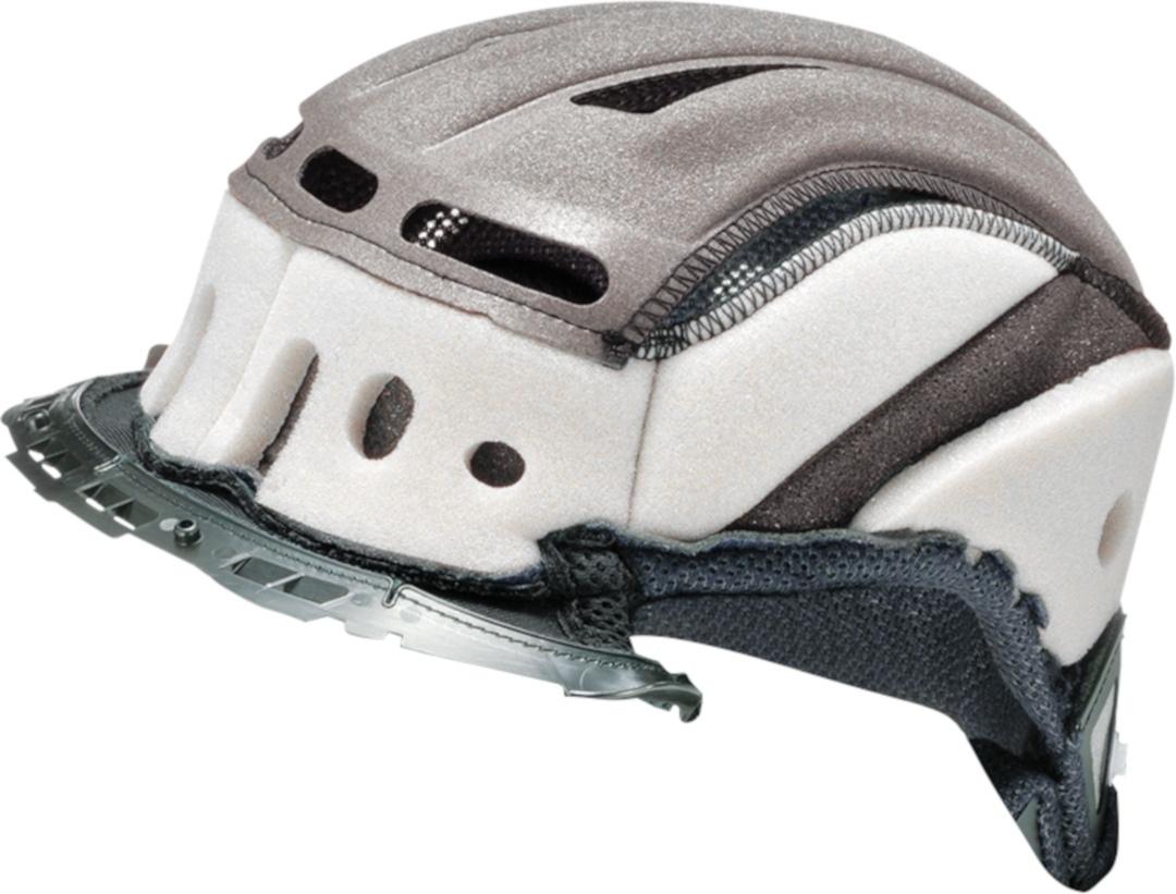 Shoei RYD Kopfpolster, grau, Größe L, grau, Größe L
