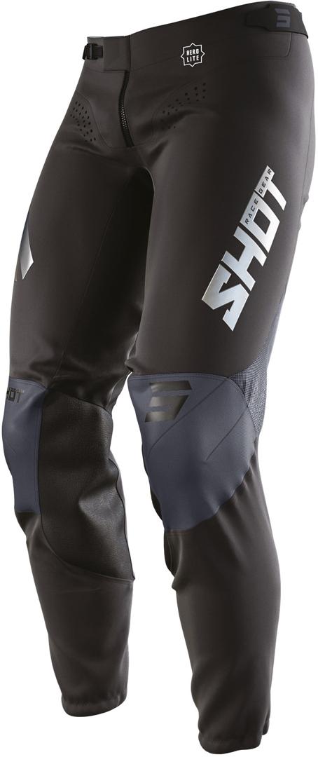 Shot Aerolite Airflow Motocross Hose, schwarz, Größe 26, schwarz, Größe 26
