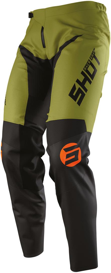 Shot Devo Storm Motocross Hose, schwarz-grün, Größe 32, schwarz-grün, Größe 32