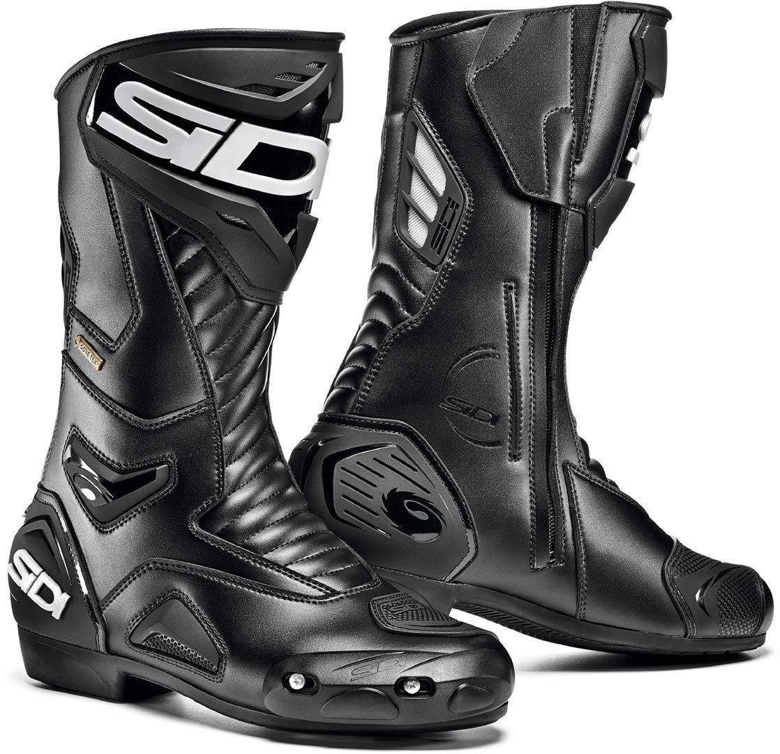 Sidi Performer Gore-Tex Motorradstiefel, schwarz, Größe 42, schwarz, Größe 42