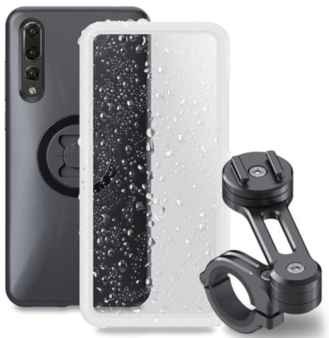 SP Connect Moto Bundle Huawei P20 Pro Smartphone-Halterung, schwarz, schwarz