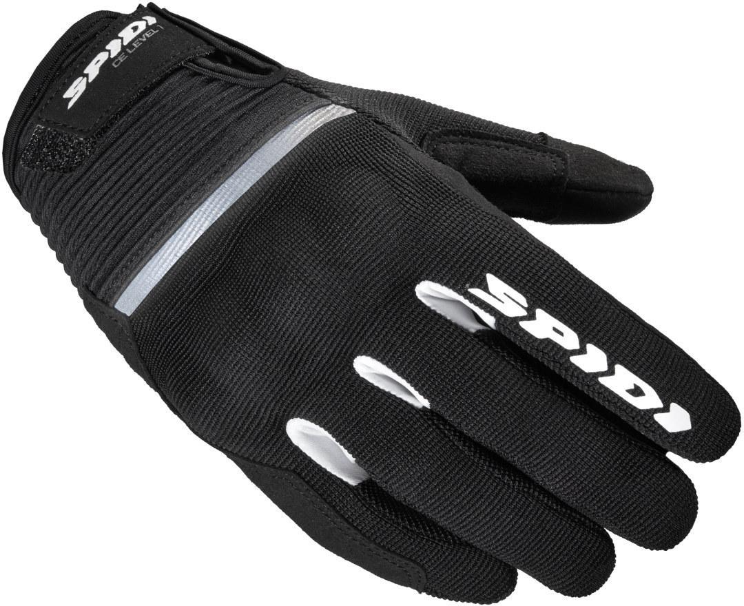 Spidi Flash Damen Motorradhandschuhe, schwarz, Größe S, schwarz, Größe S