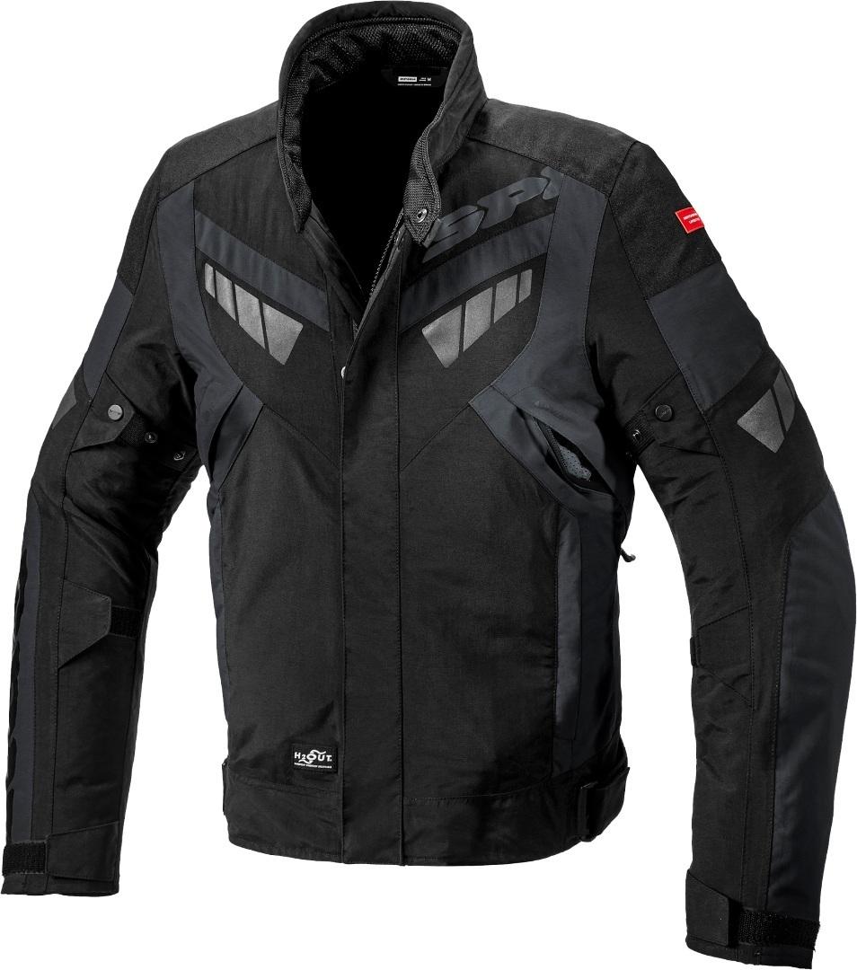 Spidi H2Out Freerider Motorrad Textiljacke, schwarz-grau, Größe XL, schwarz-grau, Größe XL