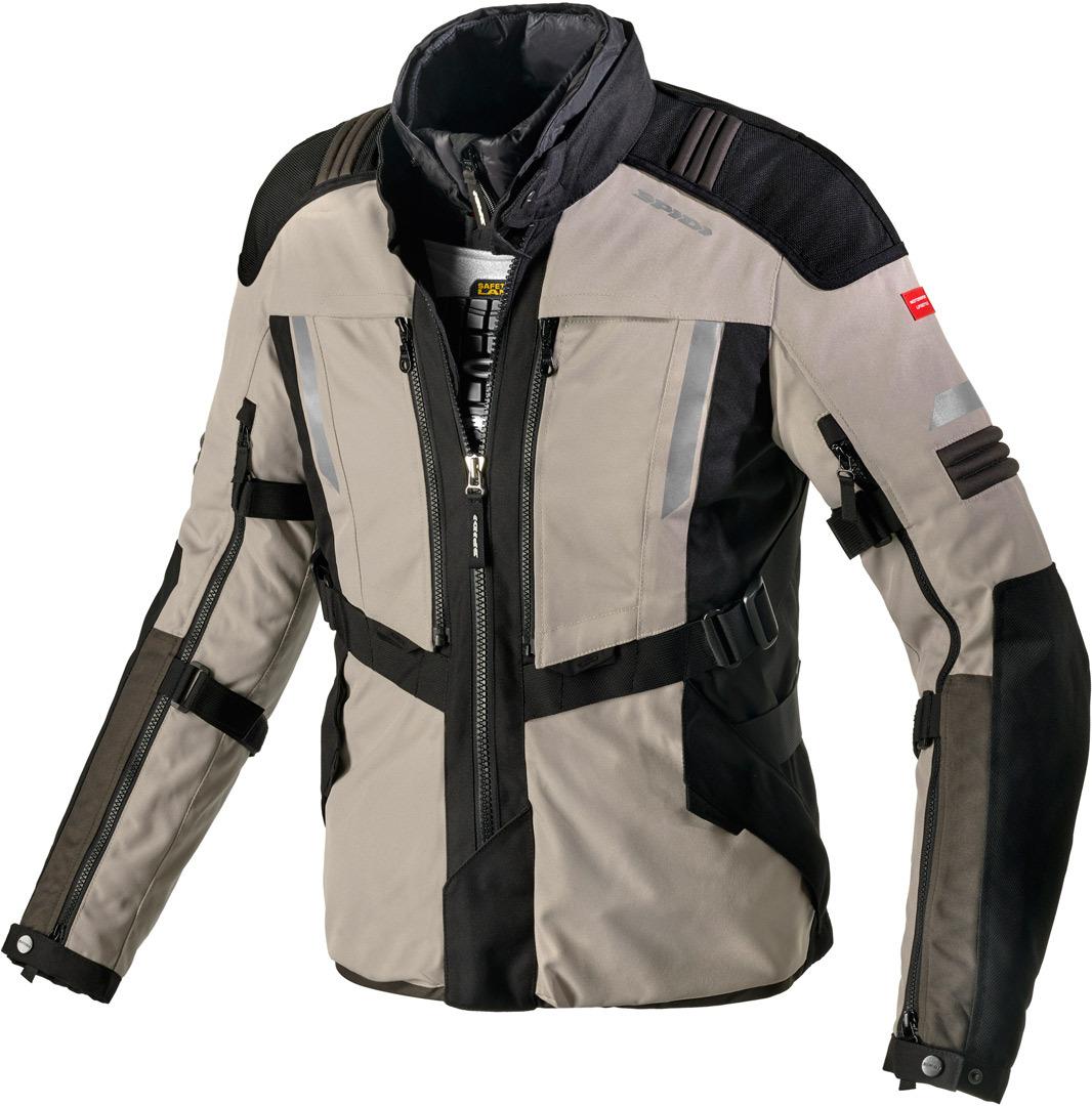 Spidi Modular Motorrad Textiljacke, beige, Größe 2XL, beige, Größe 2XL