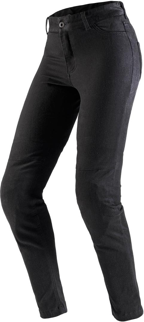 Spidi Moto Leggings Pro Motorrad Textilhose, schwarz, Größe M für Frauen, schwarz, Größe M