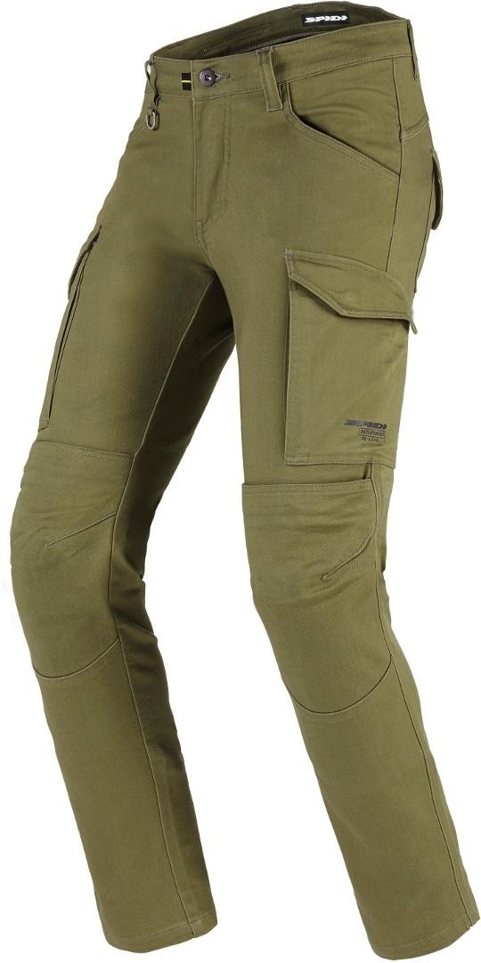 Spidi TexTech Pathfinder Cargo Motorrad Textilhose, grün, Größe 33, grün, Größe 33