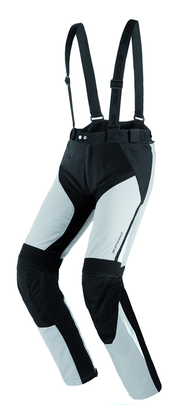 Spidi VTM Motorrad Textilhose, schwarz-grau, Größe 2XL, schwarz-grau, Größe 2XL