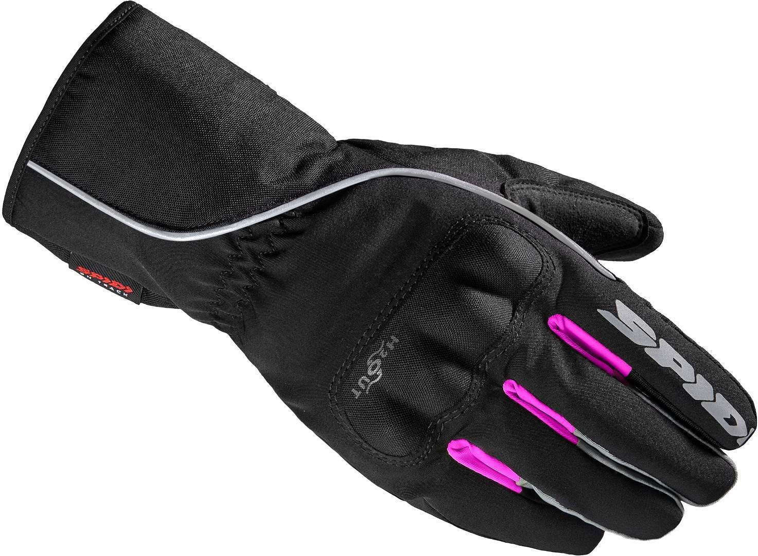 Spidi WNT-2 Damen Motorrad Handschuhe, schwarz-pink, Größe M, schwarz-pink, Größe M
