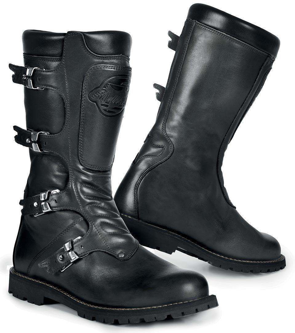 Stylmartin Continental wasserdichte Stiefel, schwarz, Größe 39, schwarz, Größe 39
