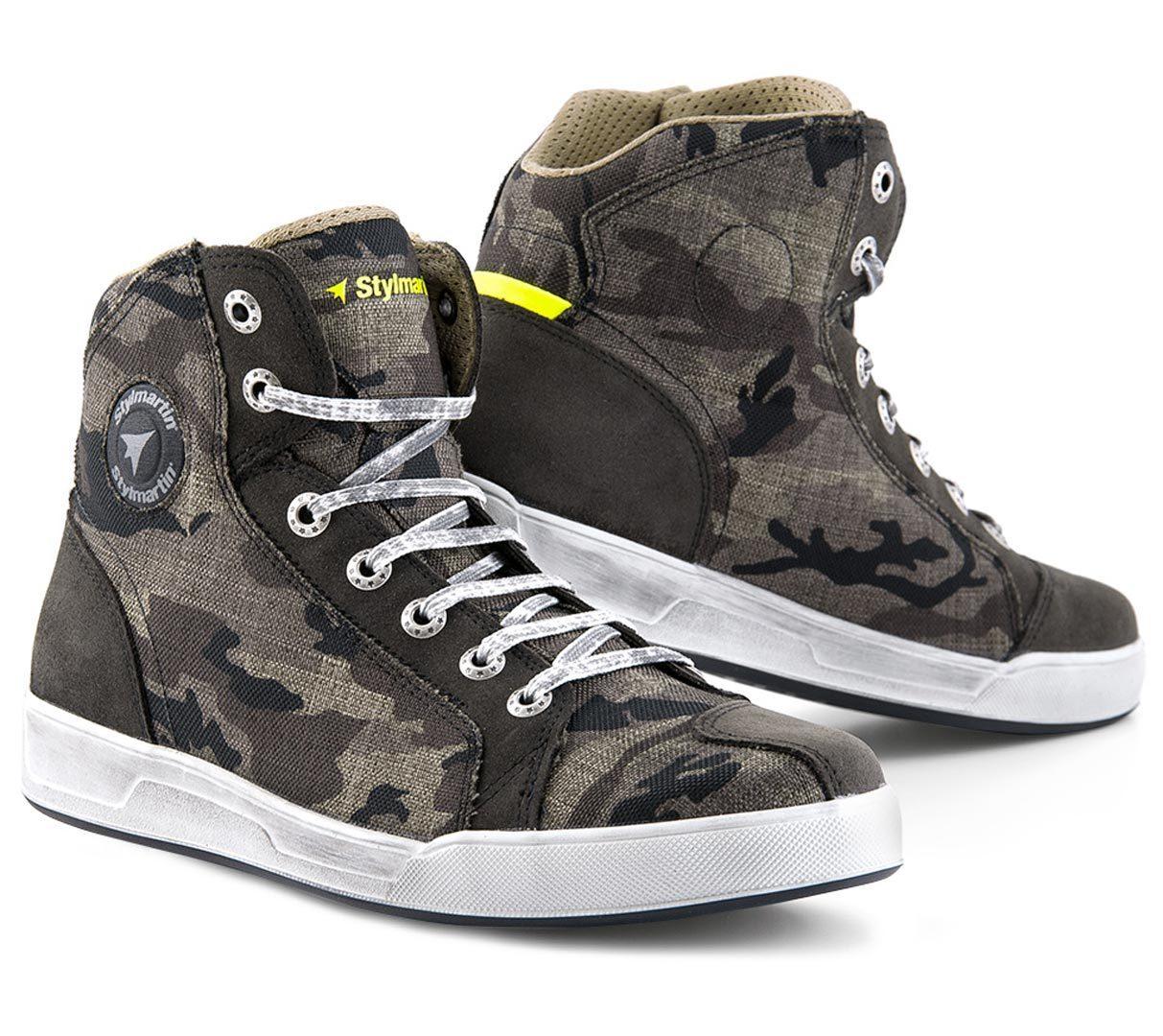 Stylmartin Raptor Evo Sneakers, grün-braun, Größe 46, grün-braun, Größe 46